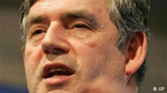 Großbritannien Gordon Brown