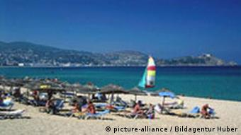 Beach in Tunesia
