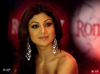 Bollywood-Schauspielerin Shilpa Shetty, Foto: AP