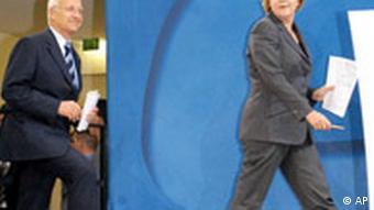 Bildgalerie Edmund Stoiber Kanzlerkandidat 2002 Merkel