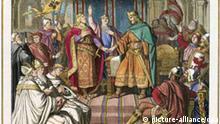 Vertrag von Verdun, Kaiser Lothar I, Ludwig der Deutsche, Karl der Kahle