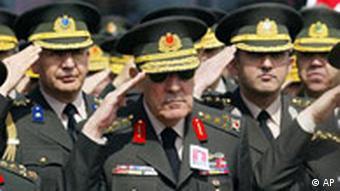 Türkei Armee Generäle