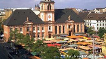 Marktplatz von Mannheim