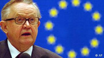 Finski diplomat Martti Ahtisaari