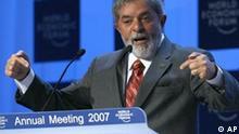 Luiz Inacio Lula da Silva in Davos