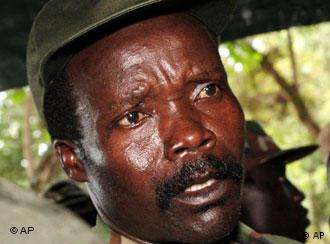 Milizenführer Joseph Kony (Quelle: AP Photo/Stuart Price, Pool)