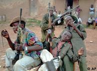 Niños soldados del Congo.