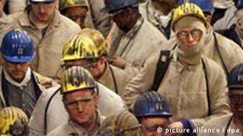 German Coal miners