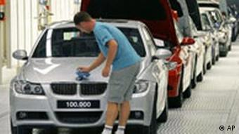 BMW assembly line