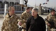 Ablösung in Afghanistan