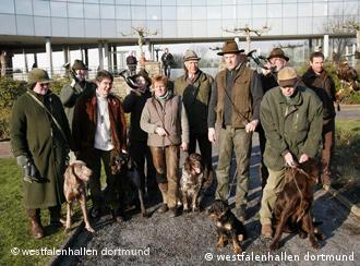 The old guard of Germany's hunting community are being joined by the young guns