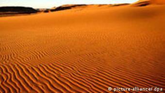 Klimawandel Wüste Sandfeld Gilf Kebir
