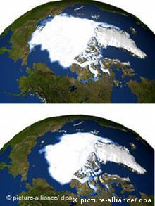 Klimawandel Arktiseis schmilzt in Rekordtempo