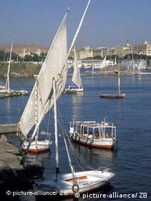 Ägypten Assuan Nassersee