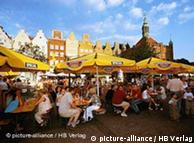 Before the war, mainly Germans lived in Gdansk in northern Poland