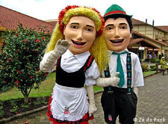 Frida e Fritz, em Nova Petrópolis, também aparecem no filme de Zé do Rock