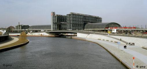 Architektur Meinhard von Gerkan Hauptbahnhof Berlin