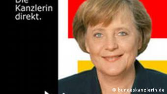 Screenshot Podcast 2007 Angela Merkel