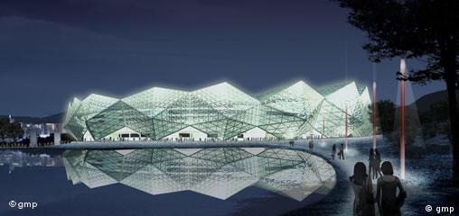 Architektur Meinhard von Gerkan Universiade Shenzhen