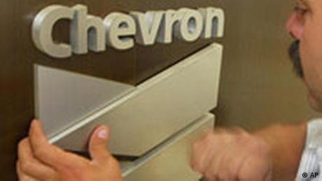 Chevron Firmenlogo (AP)