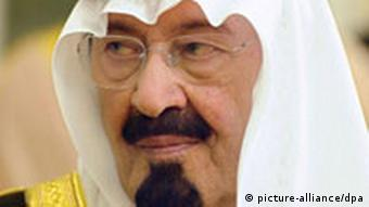 König Abdullah bin Abdulasis von Saudi-Arabien