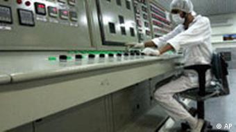Iranische Atomanlage (Archivbild 3.2.2007 bei Isfahan, Quelle: AP)