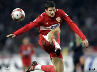 Mario Gomez, do Stuttgart: revelação da temporada