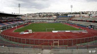 Angelo Massimino Stadion in Catania, Sizilien