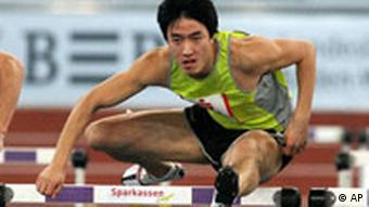 Leichtathletik Xiang Liu aus China in Stuttgart