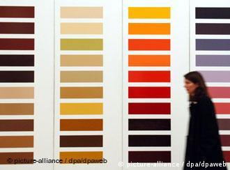 'Zehn grosse Farbtafeln' (Dez grandes cartelas de cor), 1966–1971/72