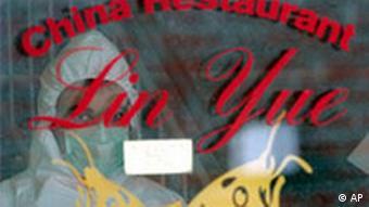 Deutschland Verbrechen Mord in China-Restaurant in Sittensen Fenster