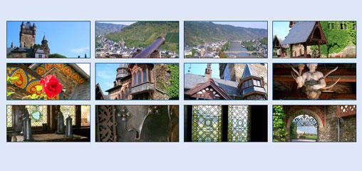 Mosel-Dossier, Russisch, Galerie, Cochem
