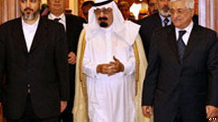 Fatah Hamas Gipfeltreffen (AP)