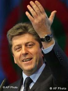 Georgy Parvanov Bulgarien