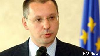 Premierminister Sergei Stanishev bei der EU Kommission