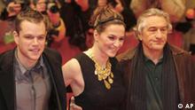 Berlinale 2007 - Matt Damon, Martina Gedeck, Robert De Niro