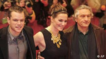 Berlinale 2007 - Matt Damon, Martina Gedeck, Robert De Niro