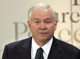US Secretary of Defence Robert Gates will visit five countries during an 8-day trip to Asia