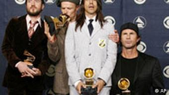 Grammy für Red Hot Chili Peppers