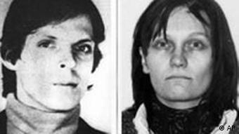 Fahndungsfoto Christian Klar und Brigitte Mohnhaupt