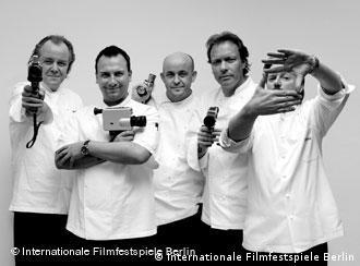 Cinco prestigiosos cocineros preparan las cenas que acompañan a las proyecciones del ciclo Cine culinario.