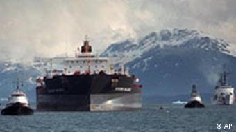 Exxon Valdez (Foto: ap)