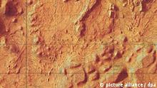 Topographie vom Mars