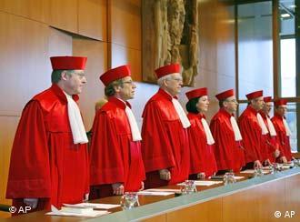 Die Richter des Bundesverfassungsgerichts