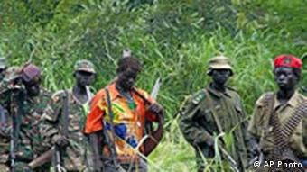 Members of Uganda's Lord's Resistance Army