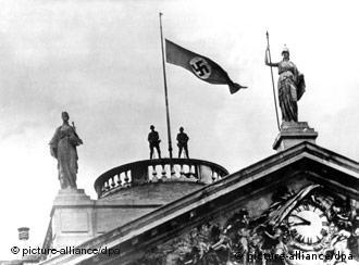 Nazi Germany raised its flag in Belgium in 1940