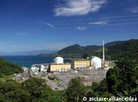 Plantas nucleares Angra 1 y Angra 2 en Río de Janeiro.