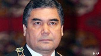 Turkmenistan neuer Präsident Gurbanguli Berdymukhamedov