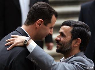 جمهوری اسلامی ایران از حامیان حکومت اسد به شمار میرود