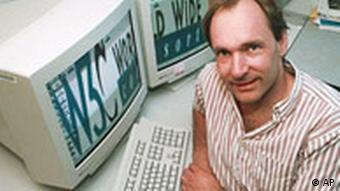 Tim Berners-Lee, 1998 (Foto: AP)